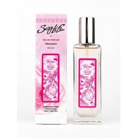 Женская парфюмерная вода с феромонами Sexy Life Feel me - 30 мл.