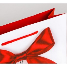 """Подарочный пакет """"Счастье мое"""" - 18 х 23 см."""