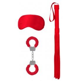 Красный набор для бондажа Introductory Bondage Kit №1