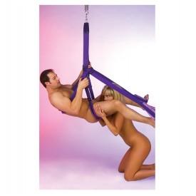 Фиолетовые секс-качели Fantasy Swing