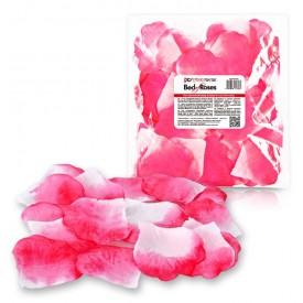 Бело-розовые лепестки роз Bed of Roses