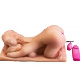Вагина с вибрацией в виде женщины с пышной попкой